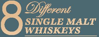 single malt whiskeys